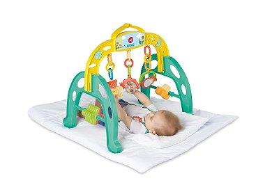 Centro de Atividades Brinquedo Educativo Infantil Mobile Baby Gym - Calesita Braço Verde