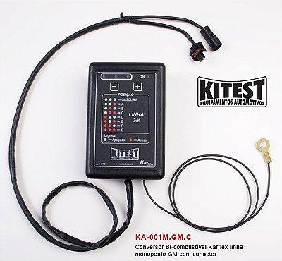 Conversor Bi-Combustível Karflex Mono Linha GM KA-001.M.GM.C