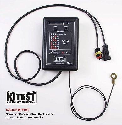 Conversor Bi-Combustível Karflex Mono Linha Fiat KA-001.M.FIAT