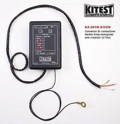 Conversor Bi-Combustível Karflex Mono 3 Fios KA-001.M.S/CON