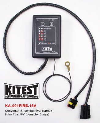 Conversor Bi-Combustível Karflex Linha Fiat Fire 16V KA-001FIRE.16V
