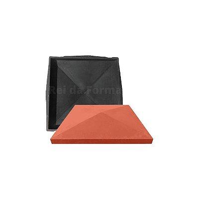 Forma Capa De Pilar Coluna Quadrada Casinha Lisa 49x49x6,5cm - BS347