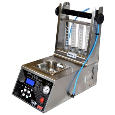 Máquina de Teste e Limpeza de Injetores Inox 1 Litro KA-080.1L/INOX