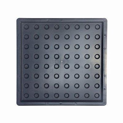 Forma Piso Tátil Alerta Direcional Bola 40x40cm Deficiente Visual - FP091
