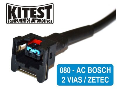 Cabo Testar Atuadores Marcha Lenta Zetec, Bosch 2 vias Testar Válvula Termostática CAB-080.AC