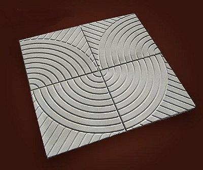 Forma Quadrada Calçada Cimento Andorinha 32x32x2,5 - FP021