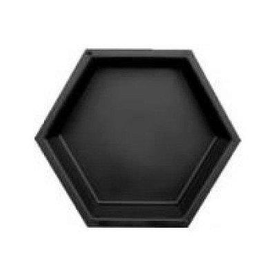 Forma Plástica Sextavada Lisa Bloquete 25x25x6cm - FP034