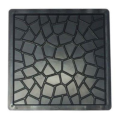 Forma Quadrada Ladrilho Caquinho Calçada Cimento 30x30x1,5 - FP027