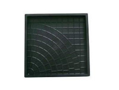 Forma Quadrada Trabalhada Calçada Cimento 49x49x3,5 - FP025