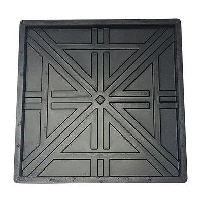 Forma Trabalhada em x Quadrada 45x45x2,5 - FP038