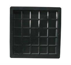 Forma Plástica Ladrilho 20x20x1,5cm Piso Xadrez 25 Quadros FP044