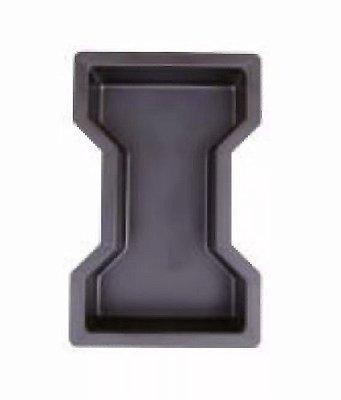 Forma Ossinho Chanfrado Bloquete Tijolo 25x15x8cm - FP059