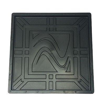 """Forma Quadrada Trabalhada em """"S"""" 45x45x2,5cm - FP066"""