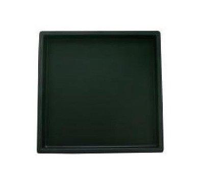 Forma Plástica Quadrada Lisa 40x40x2,5cm Piso FP079