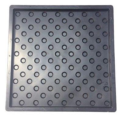 Forma Plástica Piso Tátil Bolinhas 45x45x2,5cm - FP085