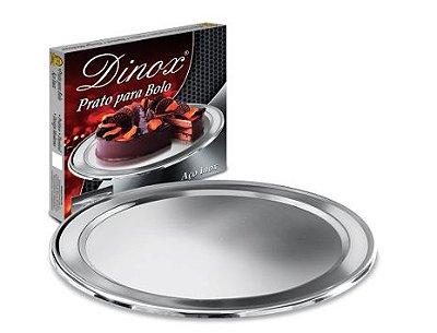 Prato para Bolo em Inox
