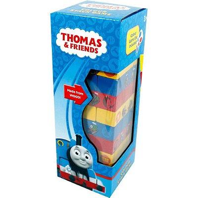 Torre Equilíbrio Madeira Didática Thomas e Seus Amigos