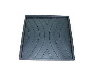 Quadrada Trabalhada Ondas 45x45x2,5cm - FP121