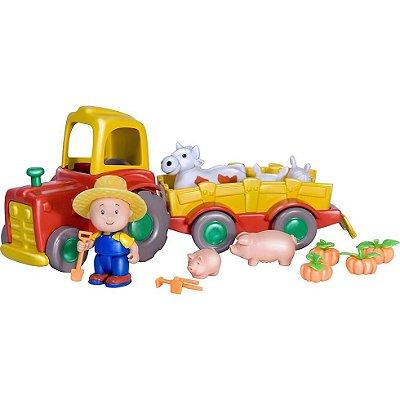Brinquedo Caillou Fazenda Trator Animais Idcai0020 Intek