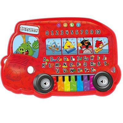 Teclado Infantil Irado Angry Birds Musical