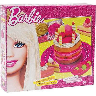 Massinha de Modelar Festa Aniversário da Barbie 7619-5
