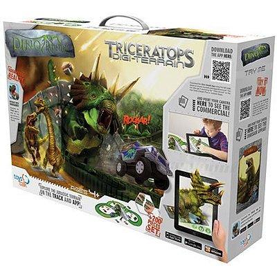 Dino Mundi Desafio Dinossauro Tricerátopo 200 Peças - Fun 7973-4