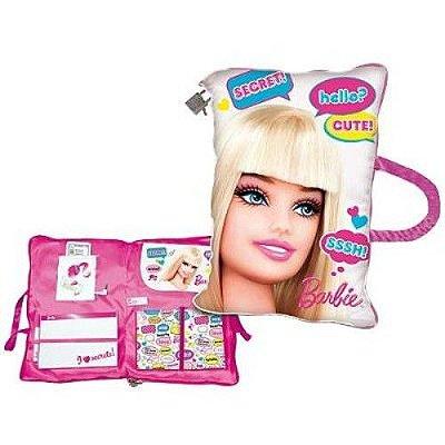 Barbie Travesseiro Almofada com Diário Secreto 7272-5