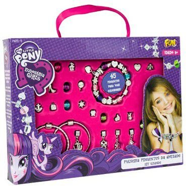 Pulseira My Little Pony Pingente da Amizade Grande 79255 Berloques