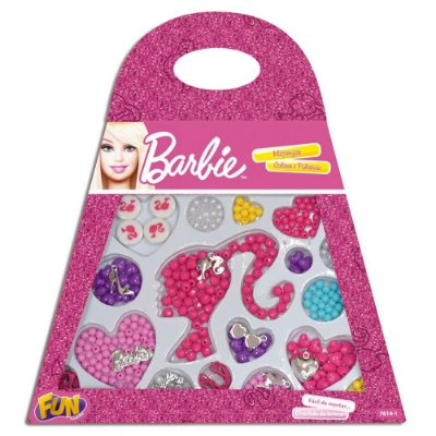 Bolsinha de Miçanga Barbie Fun 7614-1
