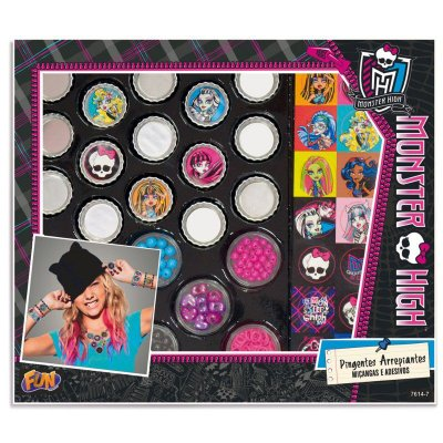 Colar Pingente Arrepiantes Monster High - Fun