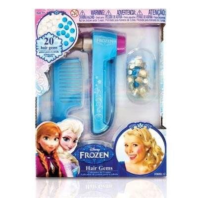 Aplicador Cristais De Gelo no Cabelo Disney Frozen