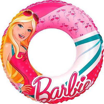 Boia Inflável 60cm Barbie Praia Piscina Glamurosa 7671-0
