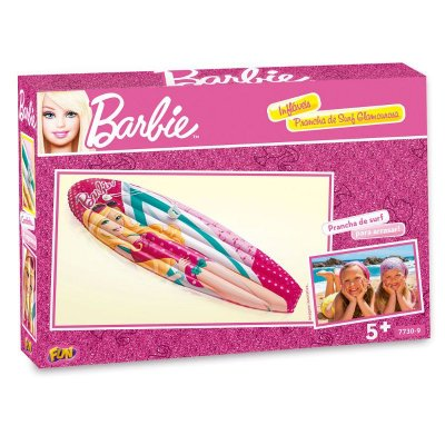 Prancha Inflável Surf Barbie Praia Piscina Fashion 7730-9