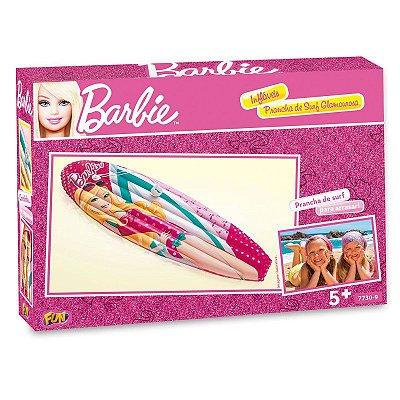 Prancha Inflável Surf Barbie Praia Piscina Fashion 7730-9