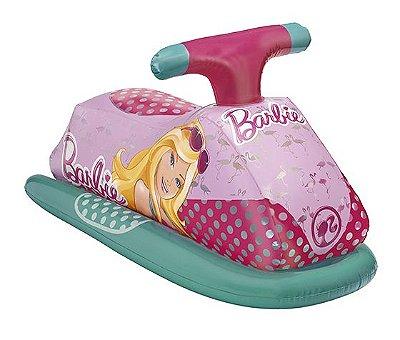 Jet Ski Inflável Barbie Praia Piscina Glamuroso 7731-0