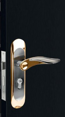 Fechadura Cromada Níquel Porta Externo ou Interno S11 BN Guardian 45mm