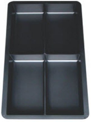 Kit com 10 unidades Forma Peyver 20 X 10 X 6 Cm - Geminada 4 Pedras - FP114
