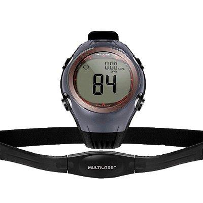 Relógio Monitor Cardíaco Calorias com Cinta Prova D´àgua Hc008 - Multilaser
