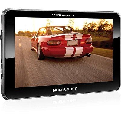 Gps Tracker 2 Tela De 7 Com Tv Digital FM Usb Gp015 - Multilaser