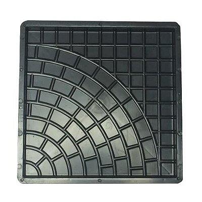 Kit com 10 unidades Forma Quadrada Rústica 45x45x3,5cm - FP026