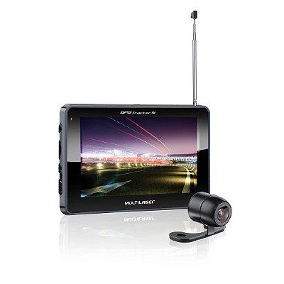 Gps Tracker 3 Tela De 5 Tv Digital Câmera Ré FM Usb Gp037 - Multilaser