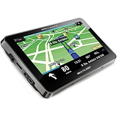 "Gps Automotivo Tracker 3 Tela 7"""" Tv Digital FM Usb Gp038 - Multilaser"