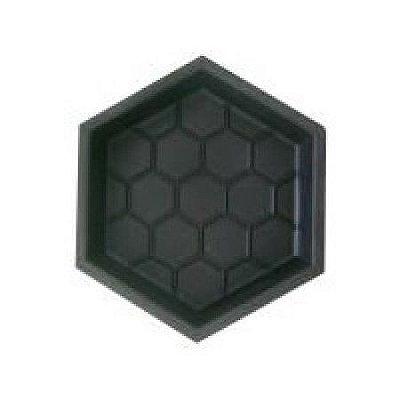 Kit com 10 unidades Forma Sextavada Estriada 30 x 30 x 8 cm - FP010