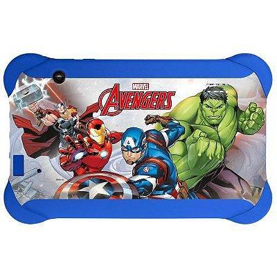 """Tablet Disney 7"""" Kids Infantil 8Gb Wi-Fi Quad Core NB240 - Multilaser"""