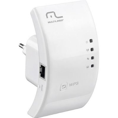 Repetidor Sinal Internet Wireless 300MBPs Amplificador RE051 - Multilaser