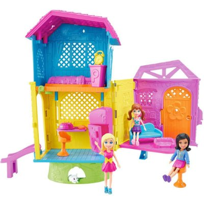 Polly Pocket - Casa Super Clubhouse Brinquedo 7992-0 - Mattel