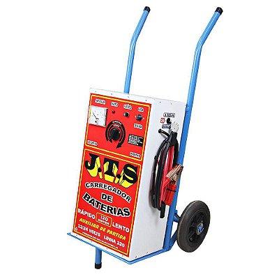 Carregador De Bateria 150a 12 a 24v Auxiliar Partida 1 Relógio JTS014 - Jts