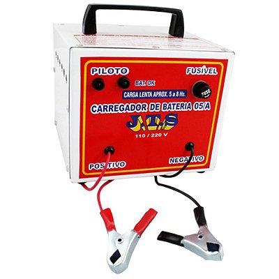 Carregador De Bateria Portátil 5a 12 a 24v JTS016 - Jts