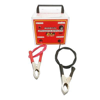 Carregador De Bateria Lento Portátil 3a 12 a 24v JTS028 - Jts