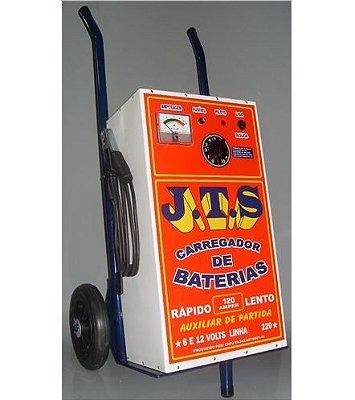 Carregador De Bateria 120a 12v Auxiliar De Partida 1 Relógio JTS001 - JTS